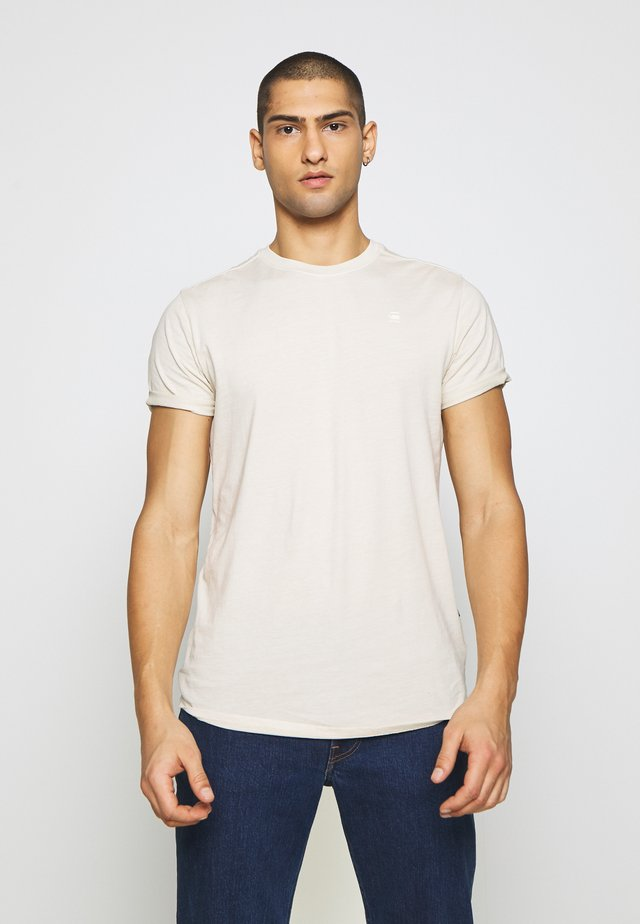 LASH - Basic T-shirt - offwhite
