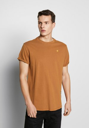 LASH - Basic T-shirt - aged almond