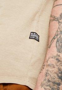 G-Star - LASH - Basic T-shirt - dusty sand - 5
