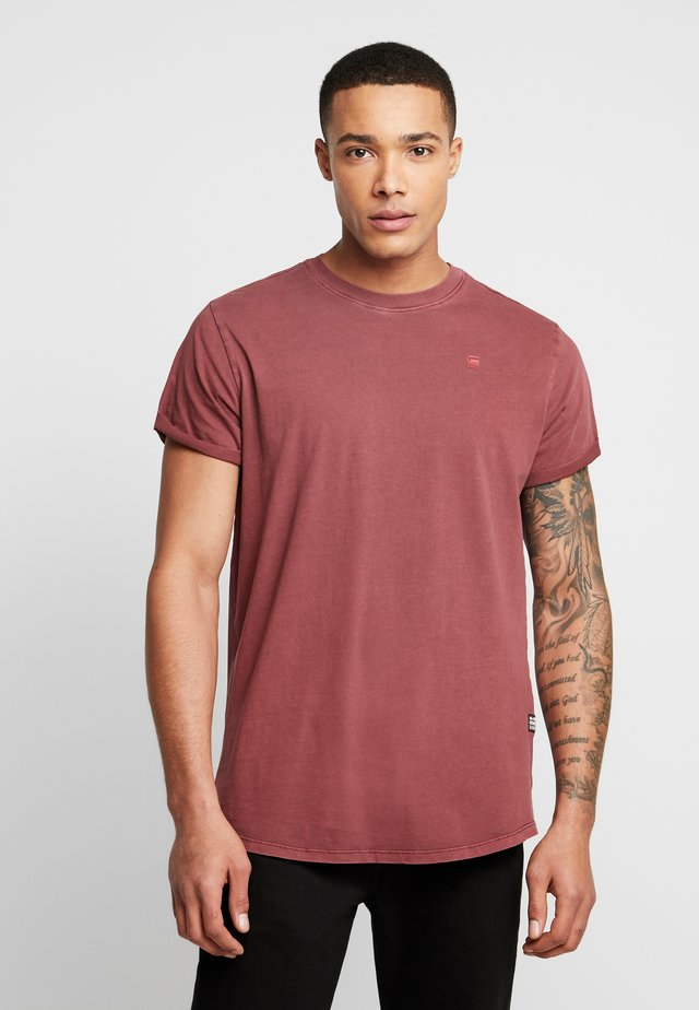 LASH - T-Shirt basic - port red