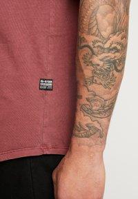 G-Star - LASH - Basic T-shirt - port red - 3