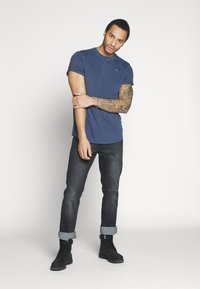 G-Star - LASH - Basic T-shirt - sartho blue - 1