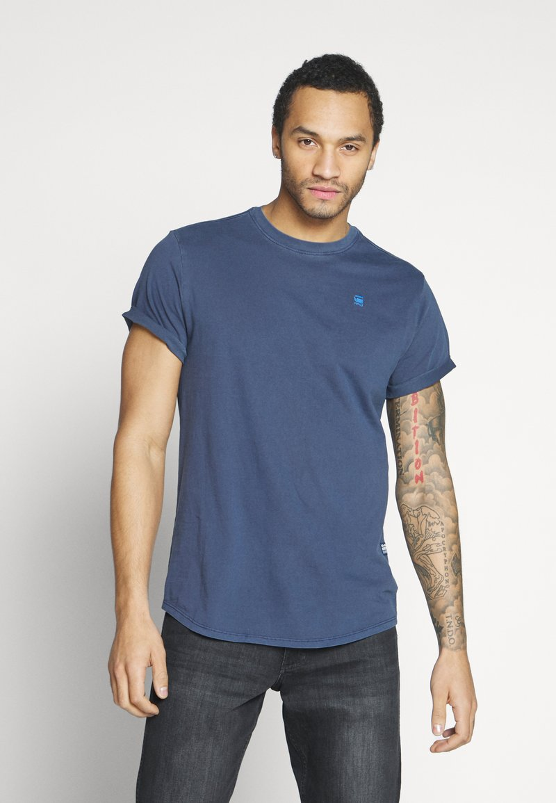 G-Star - LASH - Basic T-shirt - sartho blue