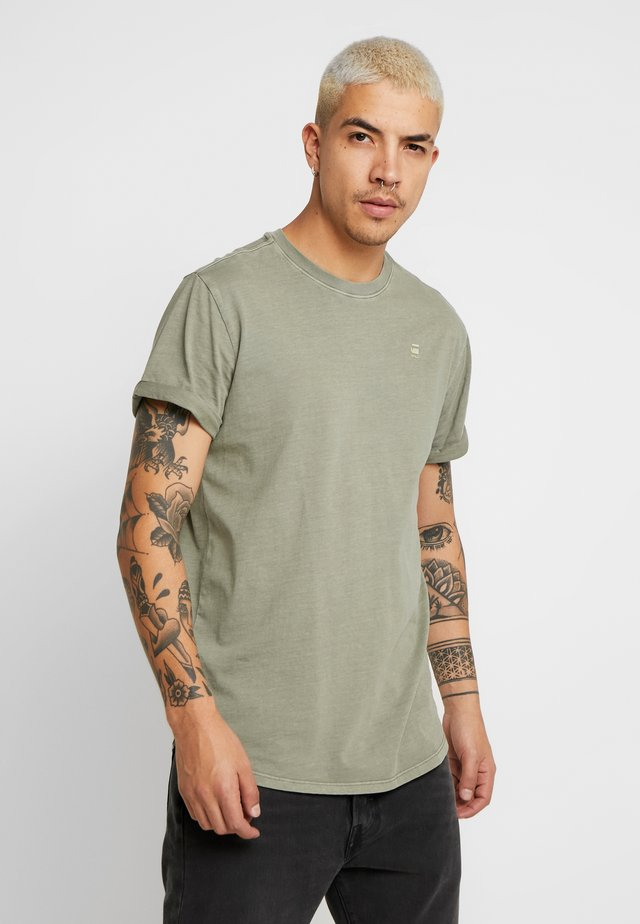 LASH - T-Shirt basic - sage
