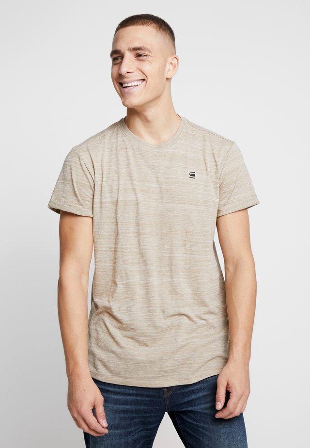 LASH - T-shirt basic - dusty sand