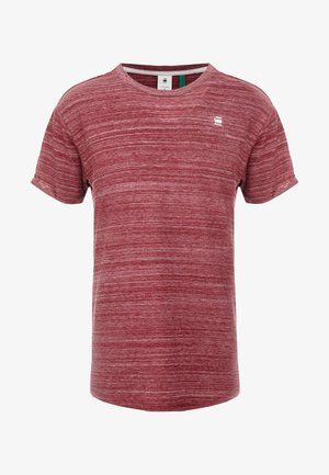 LASH - Basic T-shirt - bright russet