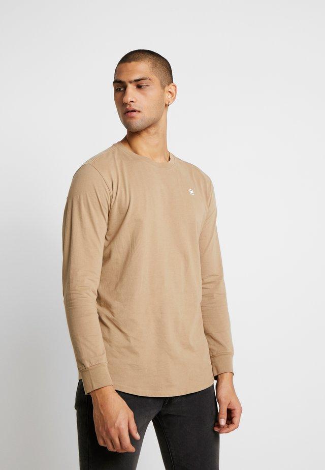 LASH - Camiseta de manga larga - dusty sand