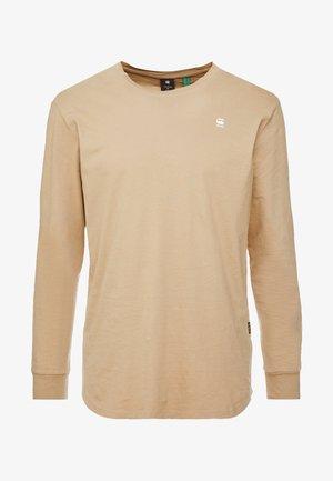 LASH R T L\S - Camiseta de manga larga - dusty sand