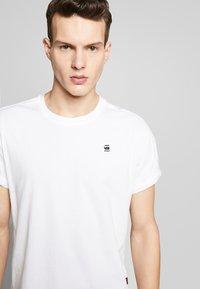 G-Star - LASH - Basic T-shirt - white - 4