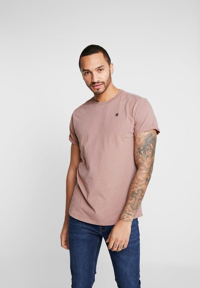 LASH - T-shirt basic - chocolate berry