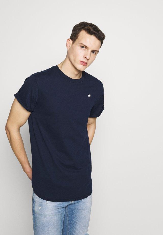 LASH - Jednoduché triko - sartho blue