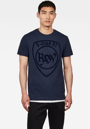 GRAPHIC LOGO  - T-shirt print -  blue