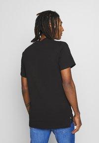G-Star - GSRAW GR R T S\S - T-shirt med print - dark black - 2