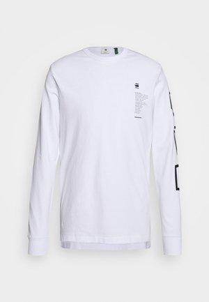 MULTI ARM GR SHIELD R T L\S - Maglietta a manica lunga - white