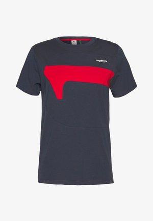 ONE CUT AND SEWN  - Camiseta estampada - indigo