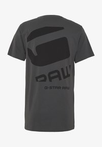 G-Star - BIG LOGO BACK  - T-shirt print - lt shadow - 1