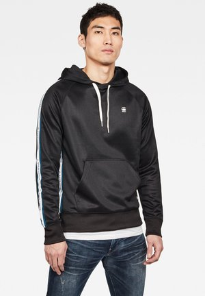 ALCHESAI CORE HOODED - Hoodie - black