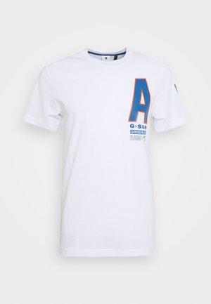 MULTI SPACE  - T-shirt print - white