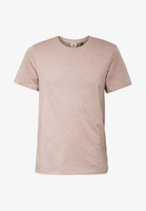 BASE-S - Basic T-shirt - chocolate berry