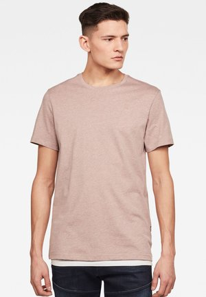 BASE-S - T-shirt basique - chocolate berry