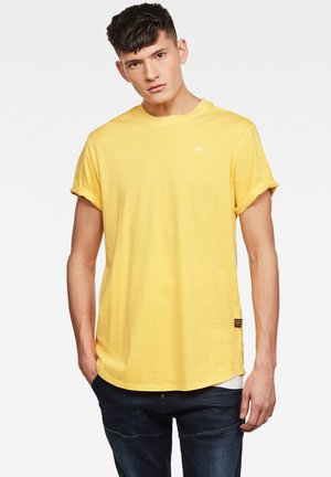 LASH - Basic T-shirt - lemon