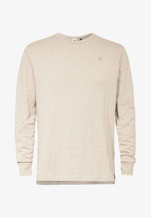 KORPAZ  - T-shirt à manches longues - beige