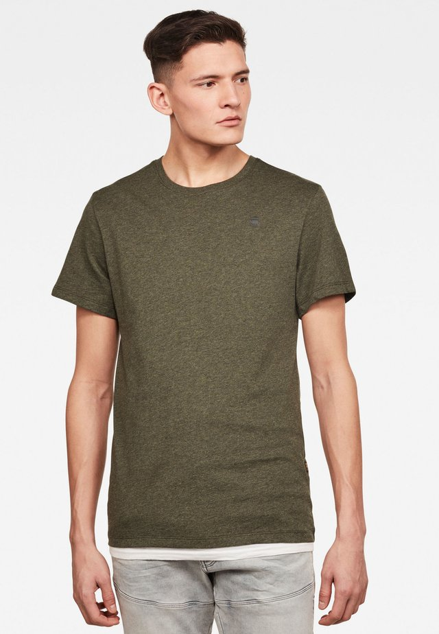 BASE-S - T-shirt basic - green