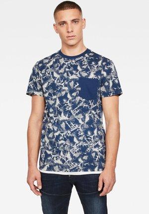 THISTLE POCKET - T-Shirt print - milk/silver ao