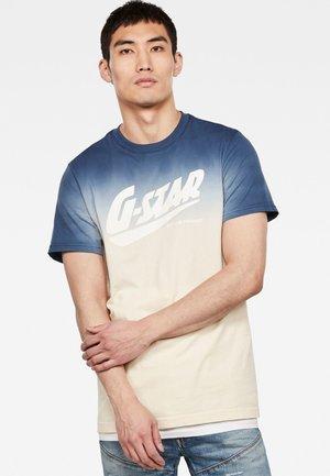 DIP DYE GR - T-shirt print - imperial blue