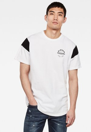 SPORT PANEL ORIGINALS LOGO GR - T-Shirt print - white
