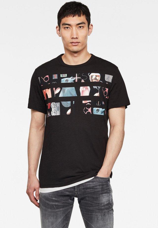 ORIGINALS PHOTO GR - T-Shirt print - dk black