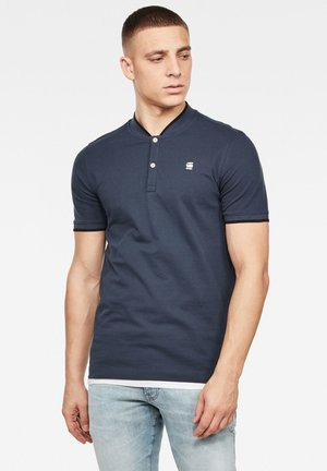SPORT COLLAR SLIM - Polo shirt - indigo