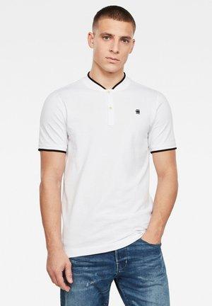 SPORT COLLAR SLIM - T-shirt imprimé - white