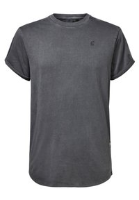 G-Star - LASH - Basic T-shirt - dark grey - 0