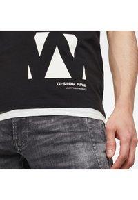 G-Star - VERTICAL RAW GR SLIM R T S\S DK BLACK MEN - T-shirt print - dk black - 3