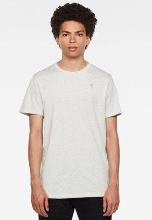 BASE-S - T-shirt basic - white htr