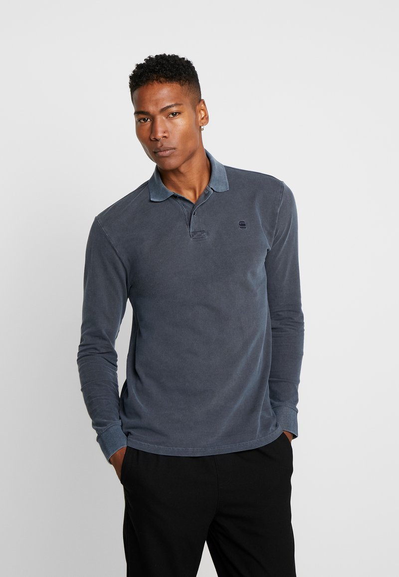 G-Star - CORE STRAIGHT - Polo shirt - mazarine blue