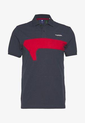 CUT AND SEWN GR SLIM - Poloshirt - indigo