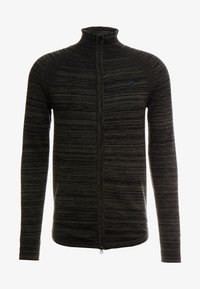 G-Star - ZIP THROUGHSOLLI KNIT L/S - Vest - asfalt/dark black - 3