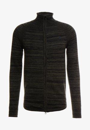ZIP THROUGHSOLLI KNIT L/S - Vest - asfalt/dark black