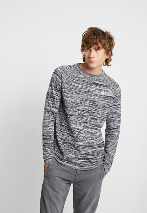 CORE SOLLI STRAIGHT R KNIT L/S - Trui - dark saru blue/milk
