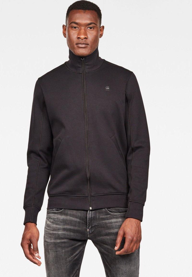 G-Star - LANC  - Zip-up hoodie - black