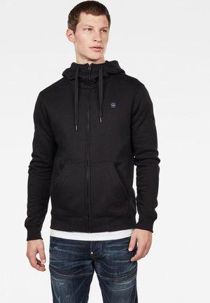 PREMIUM  - Zip-up hoodie - black