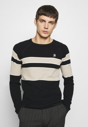 Jumper - dark black/sartho blue