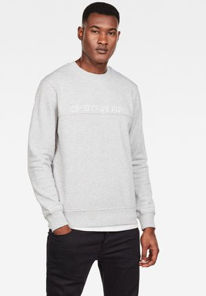 EMBRO PANELED - Trui - grey