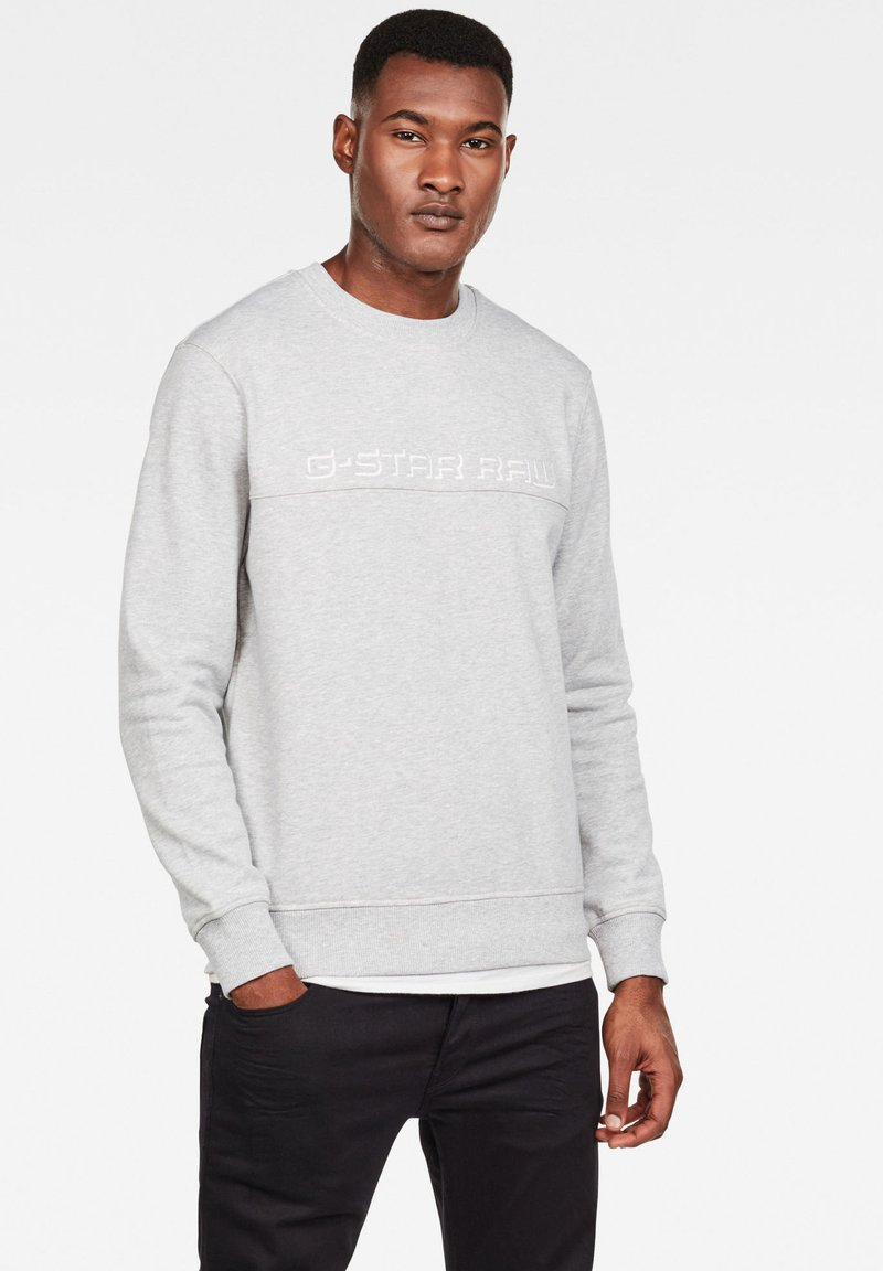 G-Star - EMBRO PANELED - Trui - grey