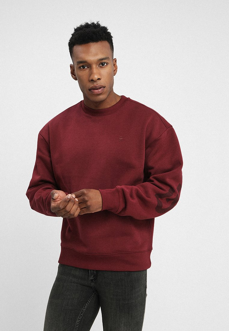 G-Star - GRAPHIC 12 STOR R SW L\S - Sweatshirt - port red
