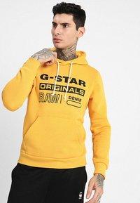 G-Star - Sweat à capuche - saffron - 0