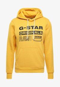 G-Star - Sweat à capuche - saffron - 4