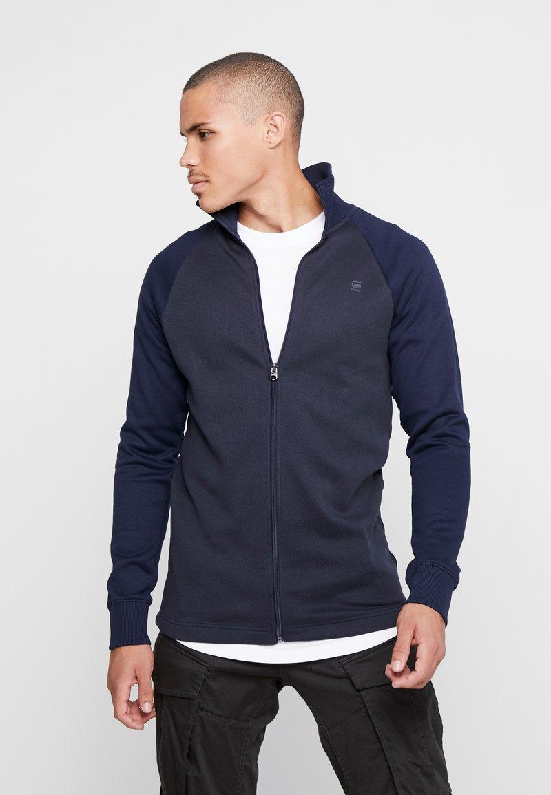 G-Star - JIRGI ZIP - Zip-up hoodie - mazarine blue